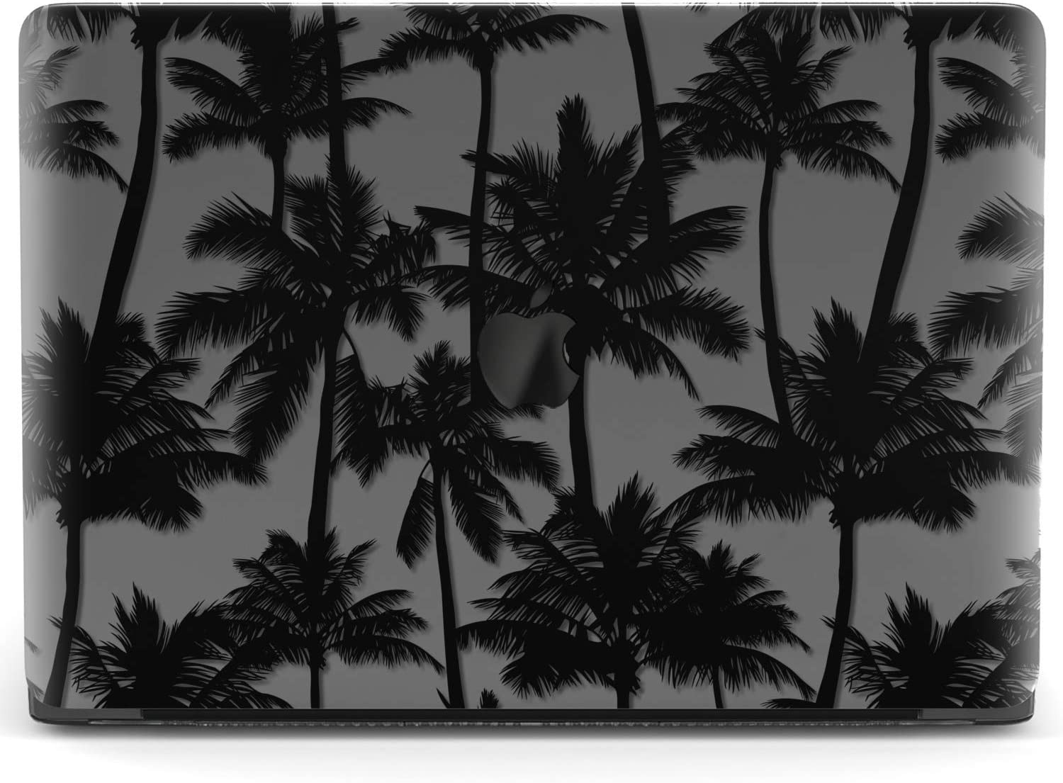 Mertak Hard Case for Apple MacBook Pro 16 Air 13 inch Mac 15 Retina 12 11 2020 2019 2018 2017 Trees California Clear Laptop Cover Plastic Touch Bar Palms Cool Design Print Protective Black Tropical