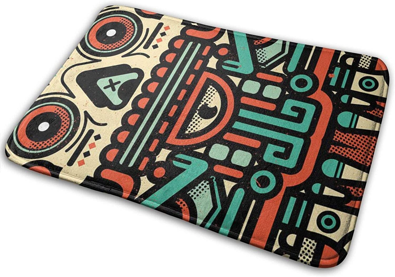 Modern X-Olotl El Animal Area Rug Floor Carpet Bathroom Mat for Kitchen/Living/Bedroom/Gaming Room Home Decor