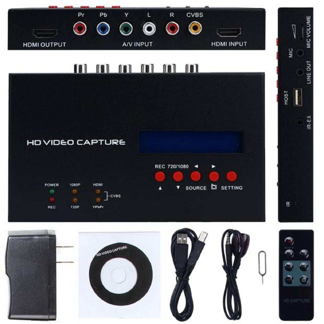 ABCsell Game Video Capture Box HD HDMI 1080P Recorder Device for XBox 360 One PS4 PS3 by abcsell (Image #1)