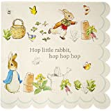 Meri Meri Party Napkin, Peter Rabbit Scallop Edge - Large