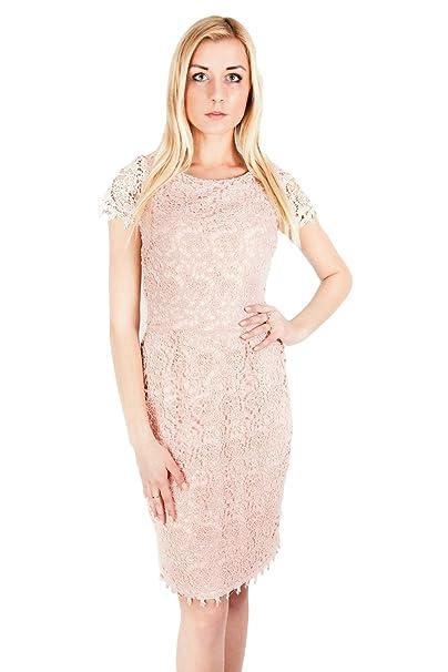 ASOS - John Zack - Vestido - Estuche - para mujer rosa rosa