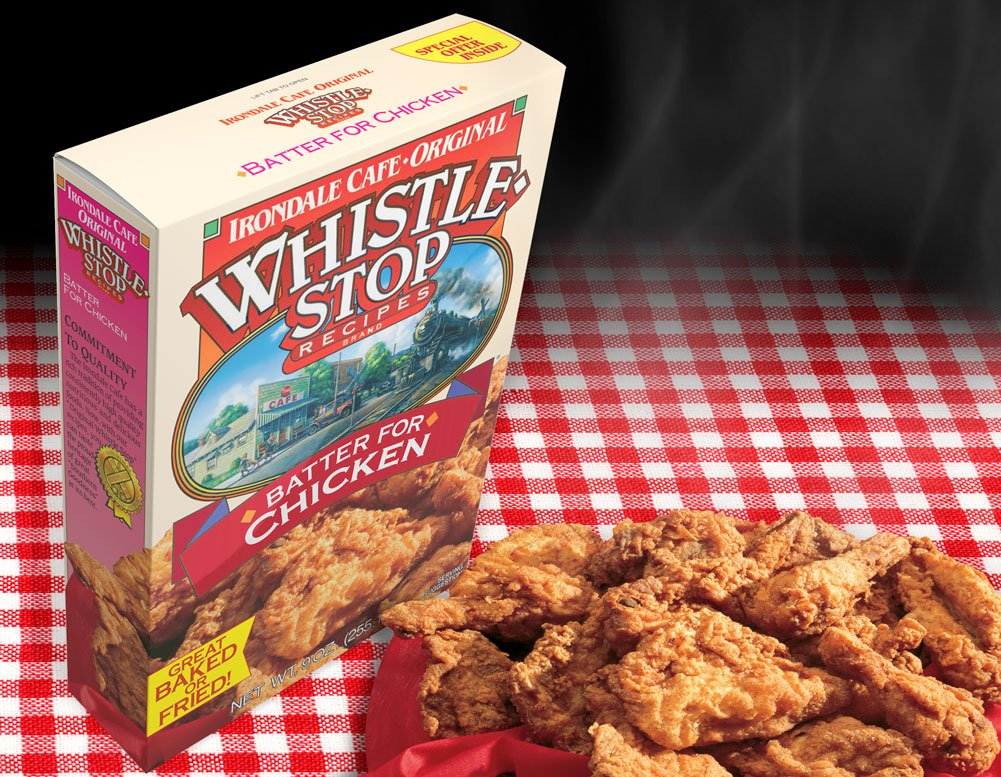 Original WhistleStop Cafe Recipes | Batter Mix for Chicken | 9-oz | 1 Box by Irondale Cafe Original Whistle Stop Recipes (Image #6)