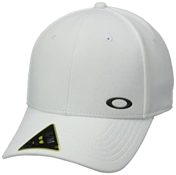 Oakley Gorra Silicon Ellipse Blanco Blanco Talla:Small/Medium: Amazon.es: Deportes y aire libre
