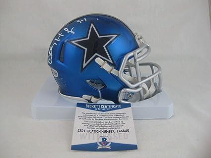 a8e64845301 Signed Charles Haley Mini Helmet - BLAZE Beckett - Beckett Authentication -  Autographed NFL Mini Helmets