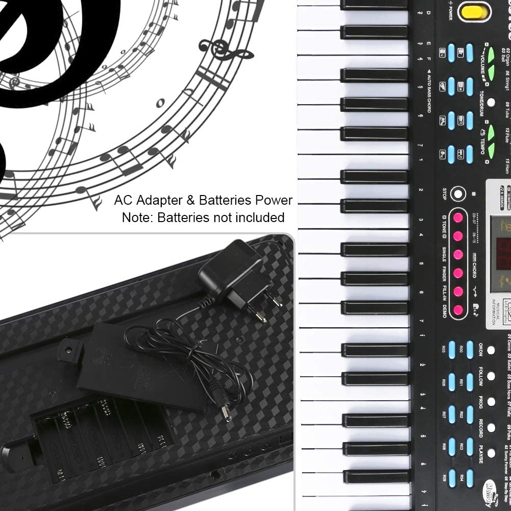 61 Teclado Electronico Teclado Portatil, Electronico Piano ...