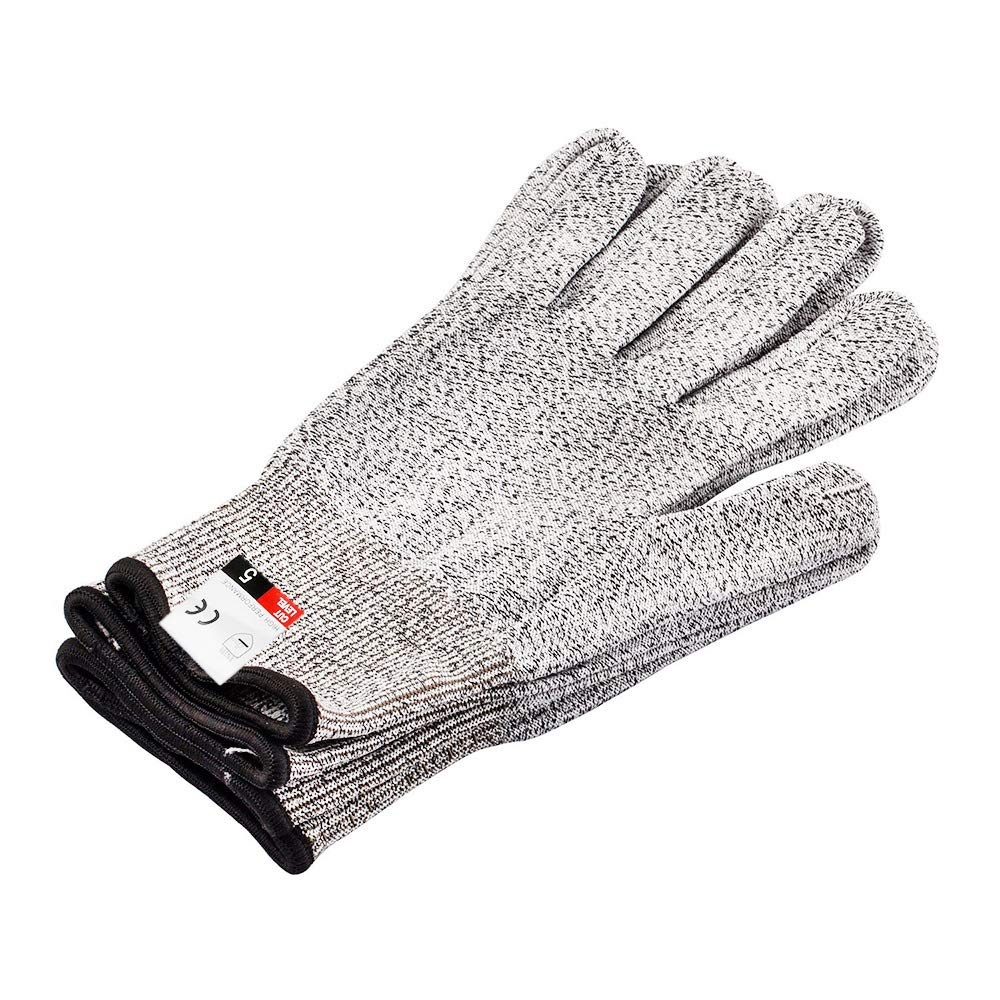 Cut Resistant Gloves Protective Gloves- High Performance Level 5 Protection, Food Grade Kitchen Glove for Hand Safety While Cutting, Doing Yard Work, Kitchen Glove 1 Pair (Small)