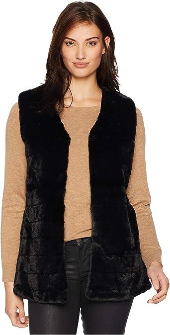 Echo Women's Faux Fur Vest at Amazon Women's Coats Shop