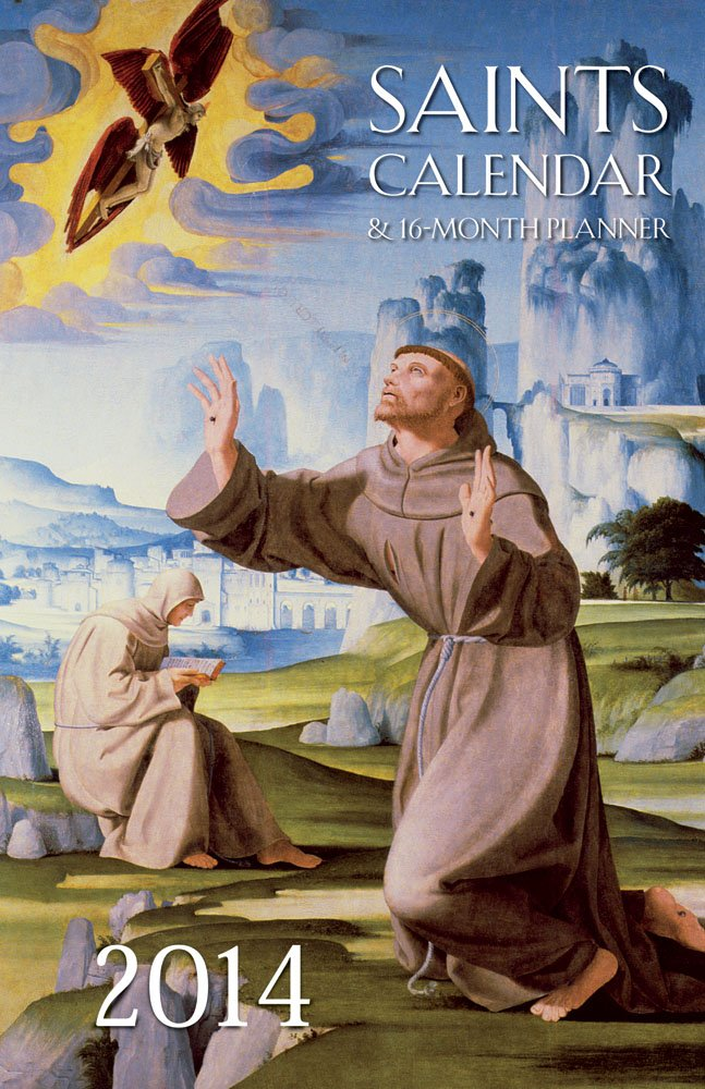 Download 2014 Saints Calendar & 16-month Planner ebook