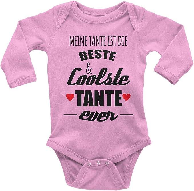 Shirtracer Sei lieb zu Mir sonst sag ichs meiner Tante Baby Body Langarm Spr/üche Baby