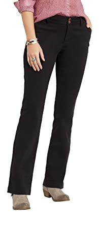 1060fa142af maurices Women s Black Chino Bootcut Pant at Amazon Women s Clothing ...