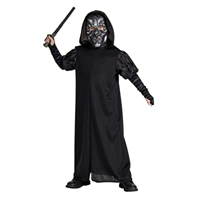 Harry Potter Child's Death Eater Costume, Small: Toys & Games