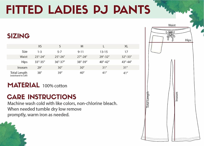 Lazy One Femmes No Wake Zone Manatee Fitted Pyjama Pantalon