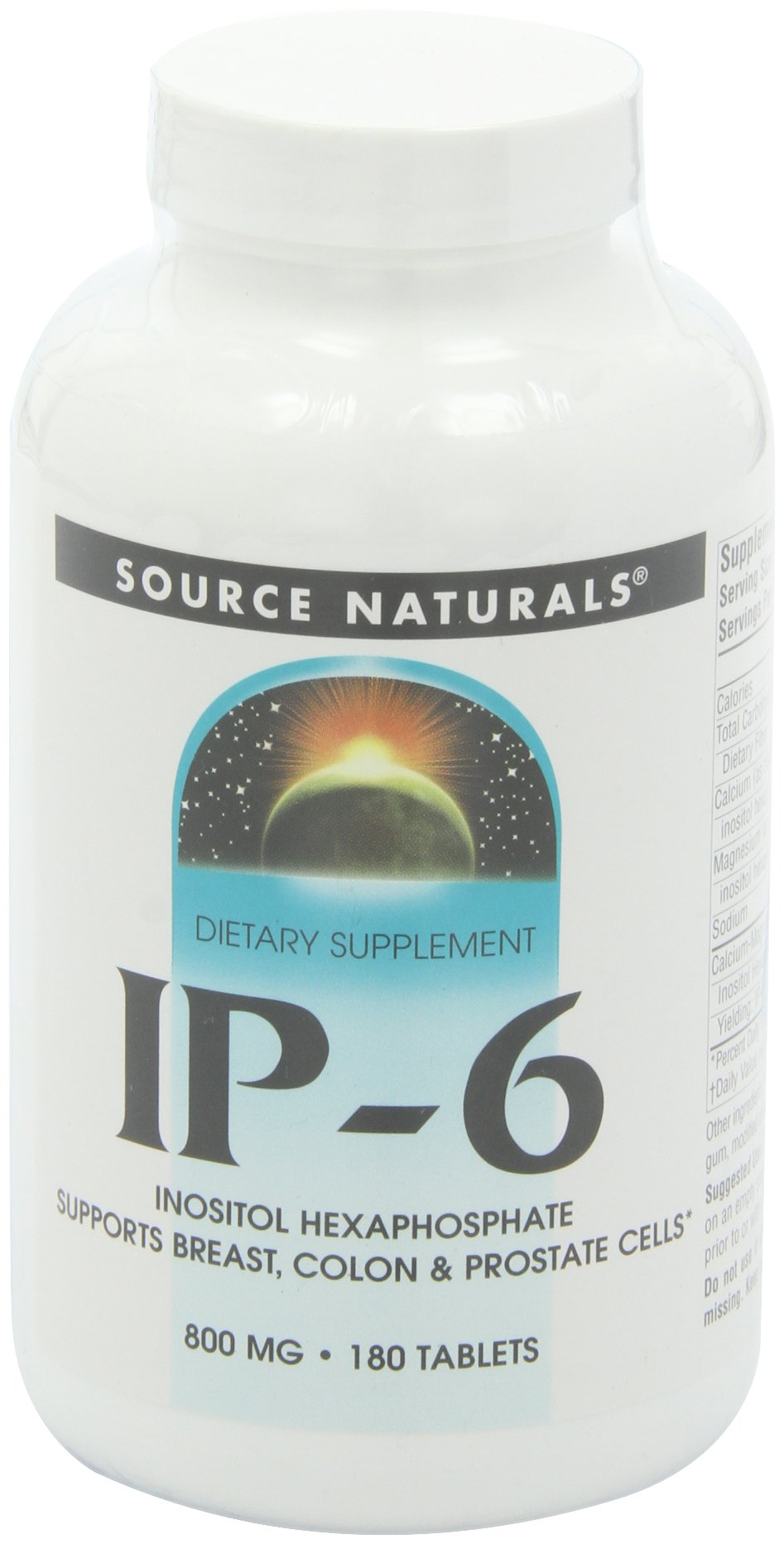 SOURCE NATURALS IP-6 Tablet, 180 Count