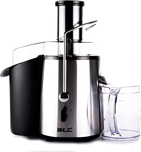 ATC - Juice Extractor 850 Watts - H-Je850, Silver, Plastic Material