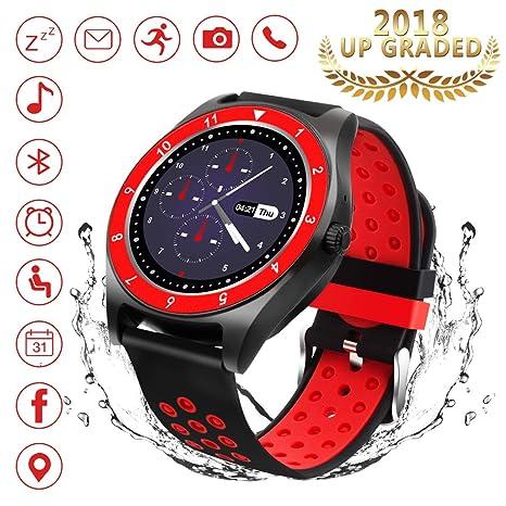 Amazon.com: Bluetooth Smart Watch, WATCHOO Touch Screen ...