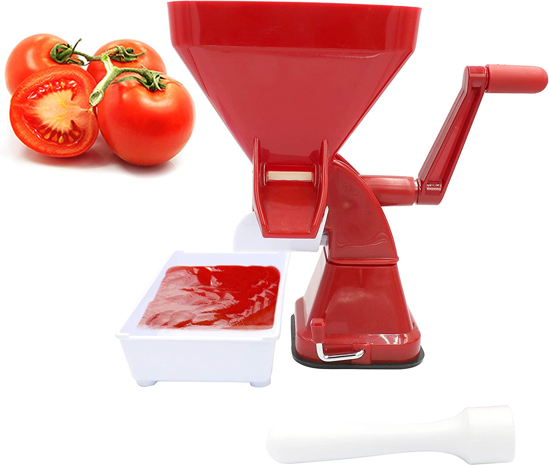 HYDDNice Tomato Press Tomato Food Strainer Sauce Maker for Tomato Sauce, Salsa and more