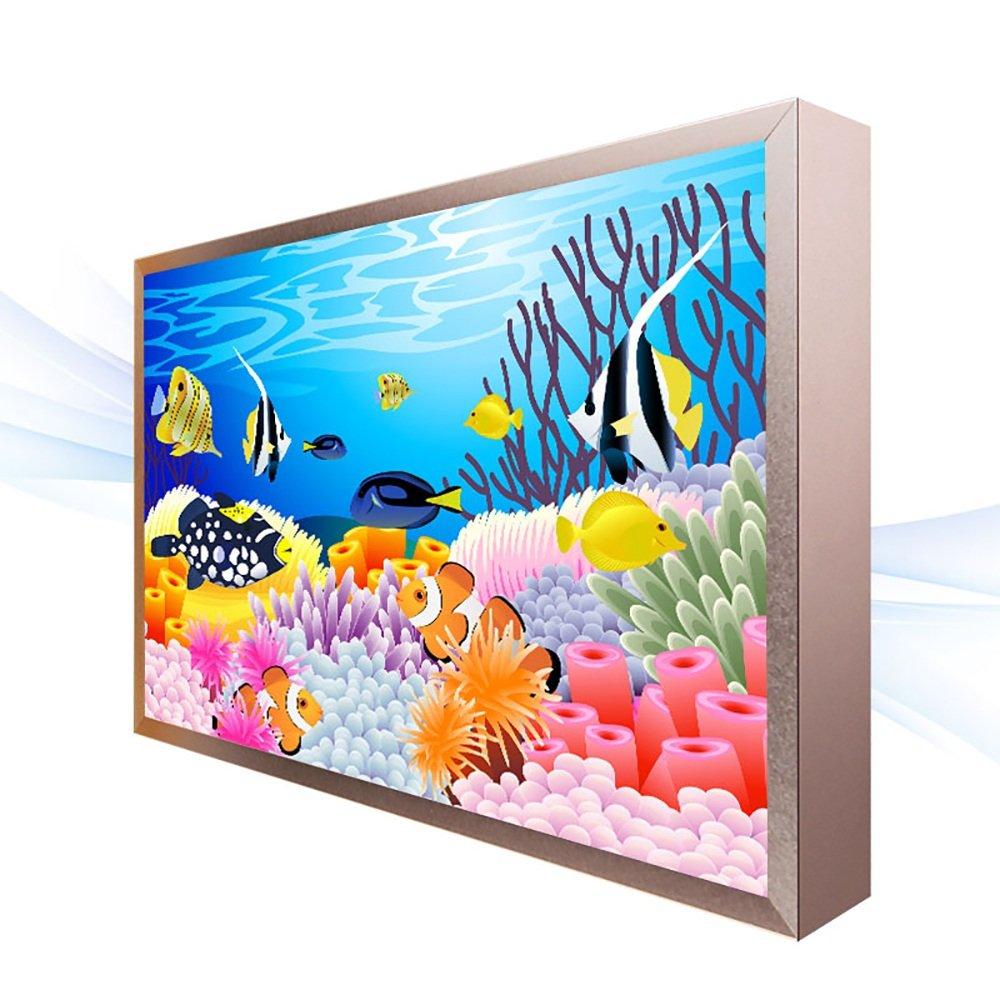 Wandleuchten Wandleuchte/Aluminium PVC/Kinderzimmer dekorative Malerei Lichter/Wohnzimmer Treppen Gang einfache LED-Wandleuchten (3 Größen erhältlich) Scheinwerfer (Farbe : B-20 * 30 * 4.6CM)