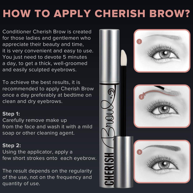 Amazon Eyebrow Growth Serum Cherish Brow Conditioner That