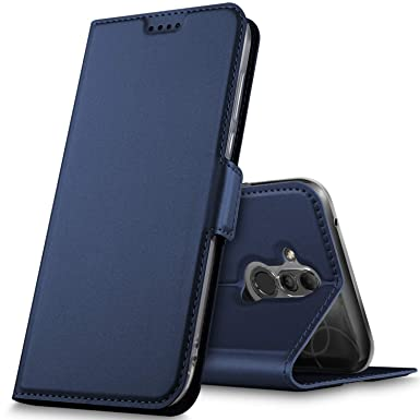 buy online 3f213 c5e19 GEEMAI For Huawei Mate 20 Lite Case, Cover for Huawei Mate 20 Lite [Card  Holder] [Magnetic Closure] Premium PU Leather Flip Wallet Case Cover Fit  for ...