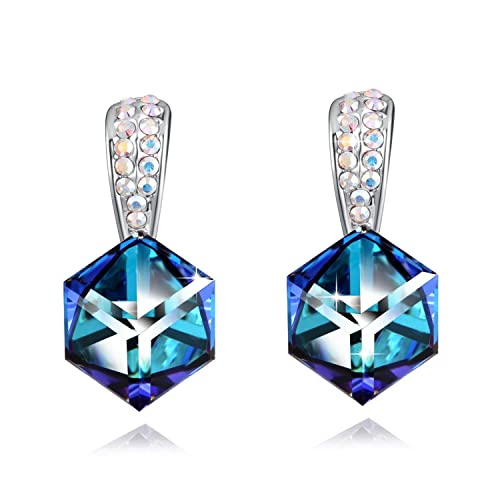 Change Color Stud Earrings PLATO H Cute Small High Heeled Shoes Stud Earring Charming Rhinestone High-Heeled Shoes Stud Earrings With Swarovski Crystal