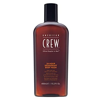 84b8c19782643 AMERICAN CREW 24 Hour Deodorant Body wash 450 ml  Amazon.co.uk  Luxury  Beauty
