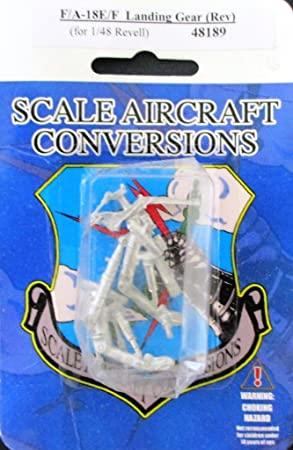 F//A-18E//F Landing Gear 1//48th  Scale for Revell Model SAC 48189