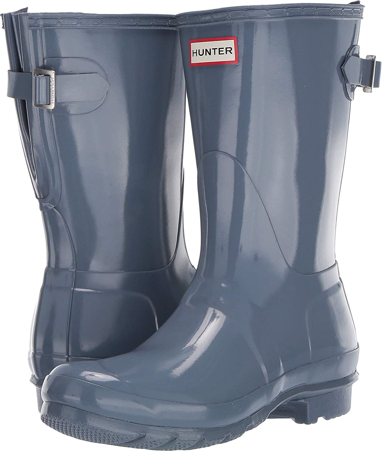 937413ba91f Hunter Boots Women's Original Back Adjustable Short Rain Boot ...