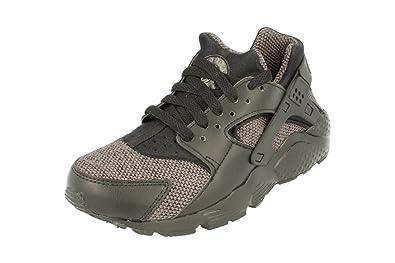 newest a67b0 fd591 Nike Juniors - Air Huarache Run SE GS - Triple Black Grey - 909143-005   Amazon.co.uk  Shoes   Bags