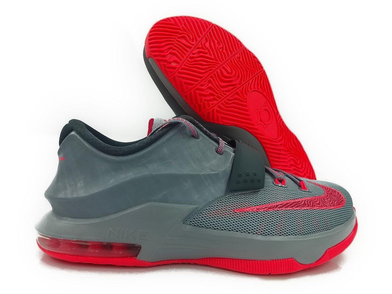 more photos 4e034 eef0a Amazon.com   Nike KD VII GG Kids Sneaker Magnet Grey Light Magnet Grey Dark  Magnet Grey Hyper Punch 669942-001 (SIZE  4Y)   Sneakers