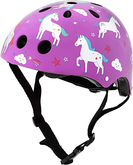 Mini Hornit - Casco de Bicicleta para niños, diseño de Unicornio ...