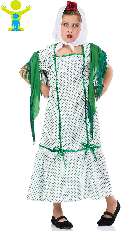 Disfraz de Chulapa Paloma para niña: Amazon.es: Juguetes y ...
