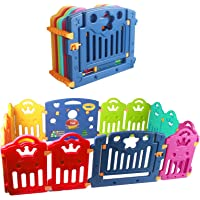 CCLIFE Parque infantil bebe Plástico para Bebés para Niños Corralito Bebe centro de actividades de seguridad centro de…