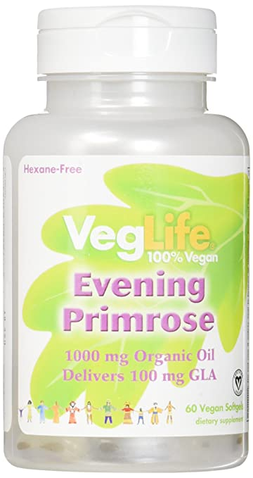 ecc53d0fc777 Amazon.com  VegLife Evening Primrose Oil Organic Vegan Softgel