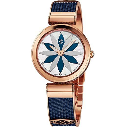 Amazon.com: Charriol Forever Flower - Reloj de pulsera para ...