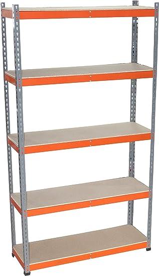 Estantería Metálica 2200x1500x400-250 kg por balda: Amazon.es: Bricolaje y herramientas