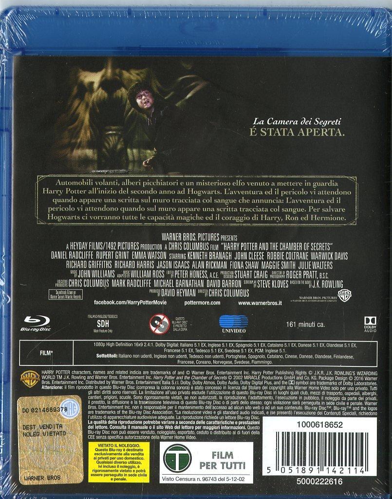 Harry Potter E La Camera Dei Segreti (SE) [Blu-ray]: Amazon ...