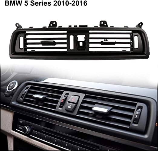 ANOKU STORE Automotive Interior Central Air Vent Dash Console Ac Ventilation For Bmw 5 Series 2010-2016 Upgraded Front Air Grille