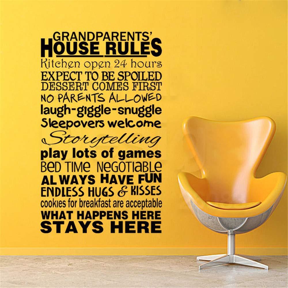 Casa de arte Decoración Abuelos Reglas de la casa Tatuajes de ...