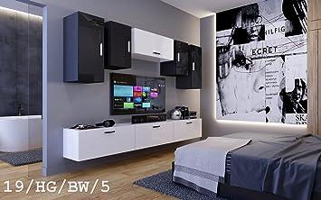 HomeDirectLTD Moderno Conjunto de Muebles de salón Future 19 ...