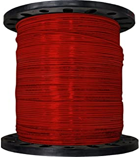 product image for CERRO 112-3603M 2500-Feet 12 Gauge Stranded THHN Red Wire