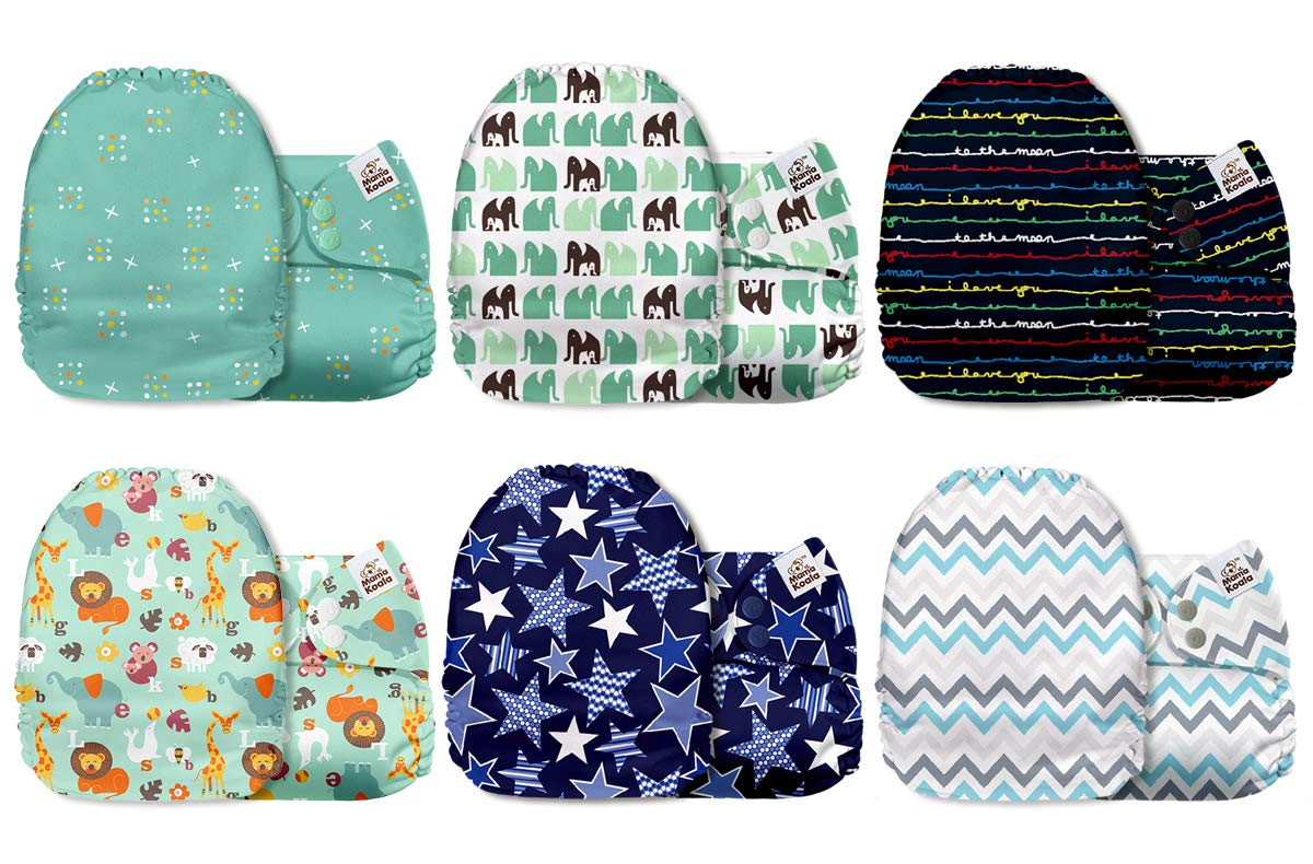 Sailor Economical Modern Cloth Reusable Washable Baby Nappy Diaper /& Insert