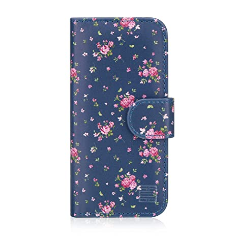 32nd floral series design pu leather book wallet case amazon co32nd floral series design pu leather book wallet case cover for apple iphone 5,