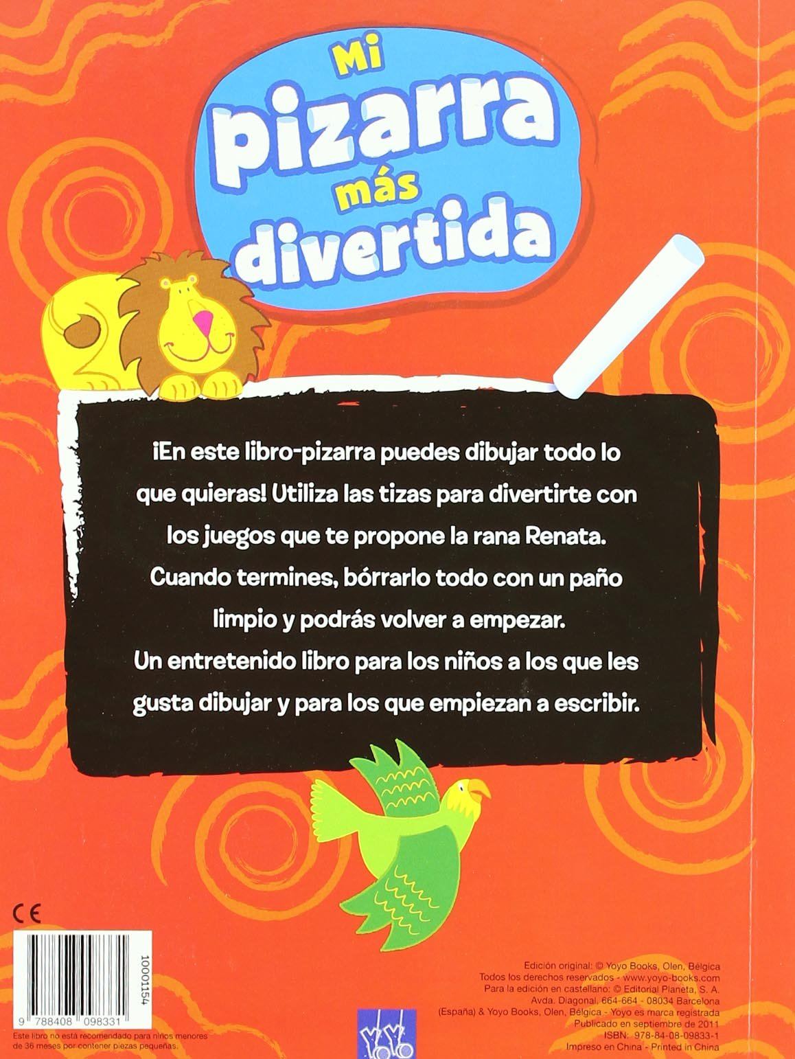 Mi pizarra más divertida. Rojo: 9788408098331: Amazon.com: Books