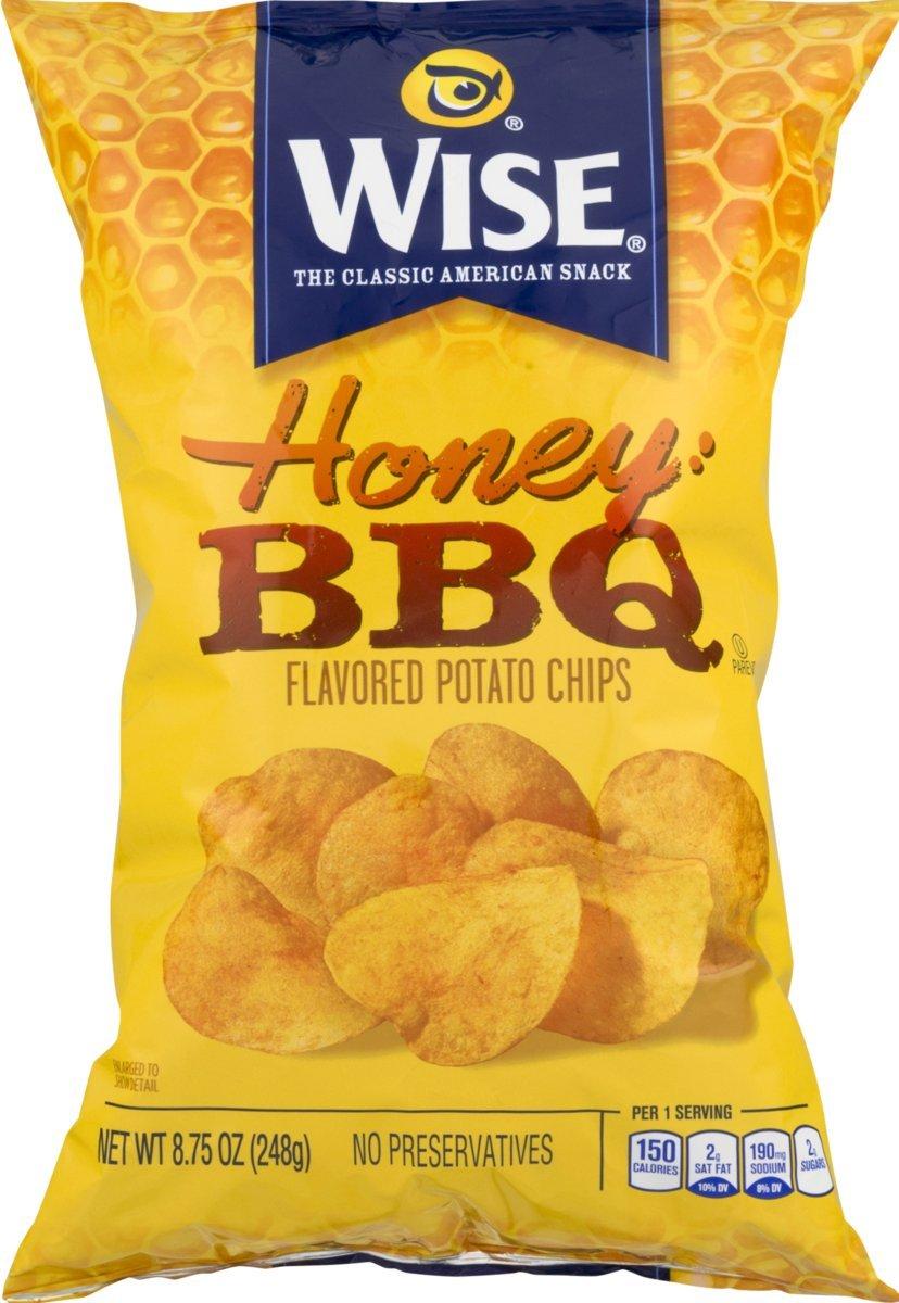 Amazon.com: Wise Foods Honey BBQ Potato Chips 8.75 oz. Bag ...