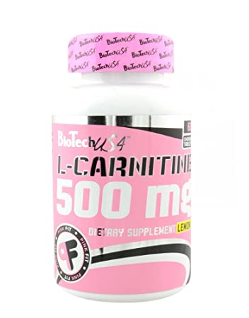 BIOTECH USA SUPER L-CARNITINE 500mg - 60 tabs
