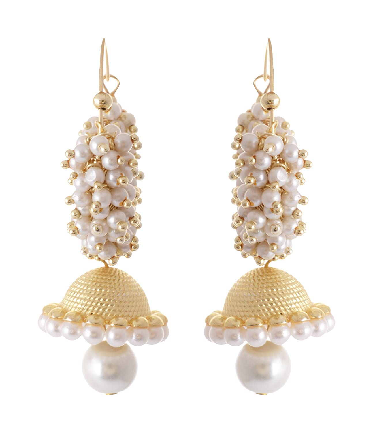 Buy Royal Bling Bollywood Inspired Stylish Party Wear Gold Plated ...