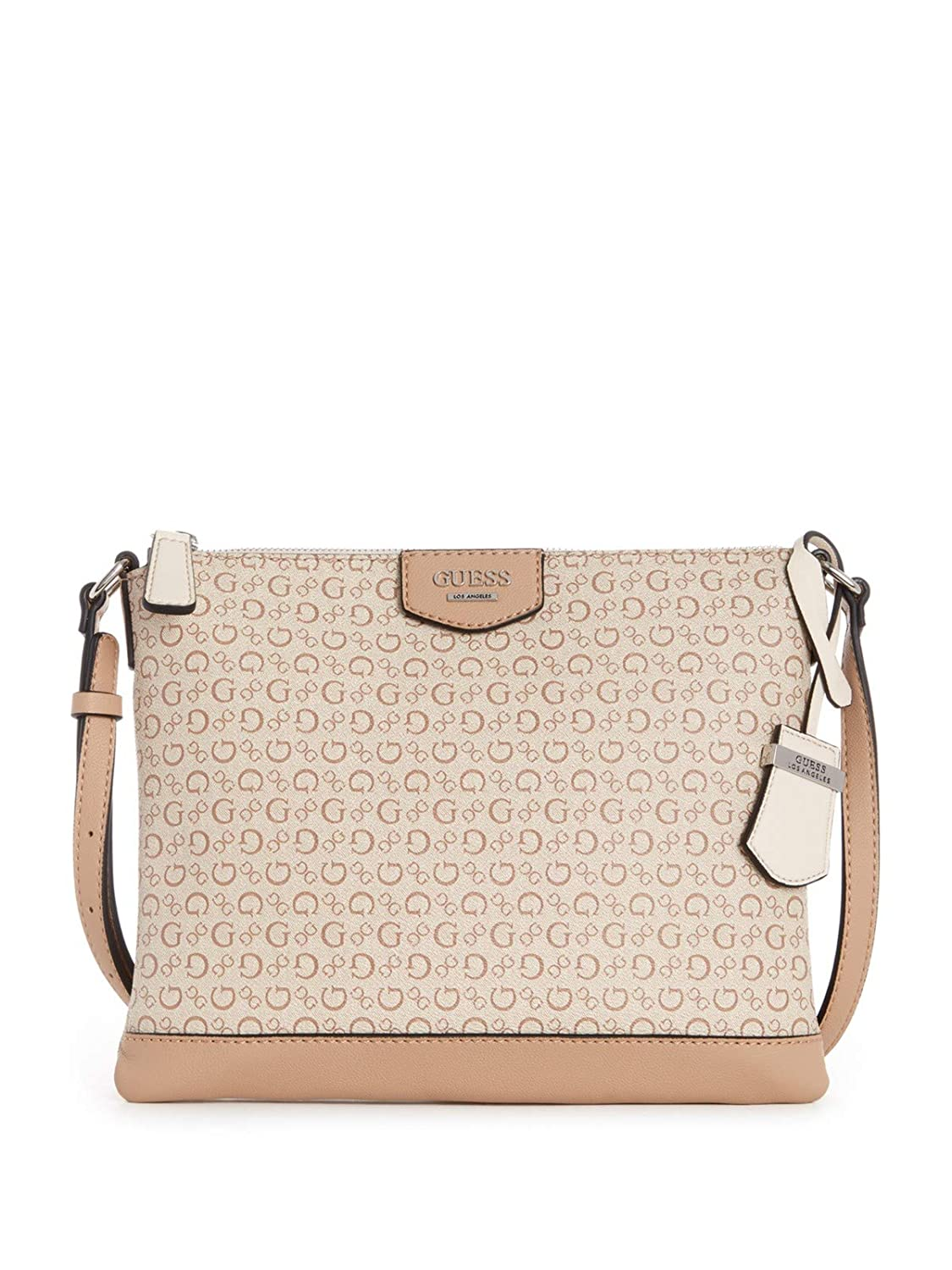 Amazon.com  GUESS Factory Women s Bennet Logo-Print Crossbody  Clothing c940d6dd55ae9