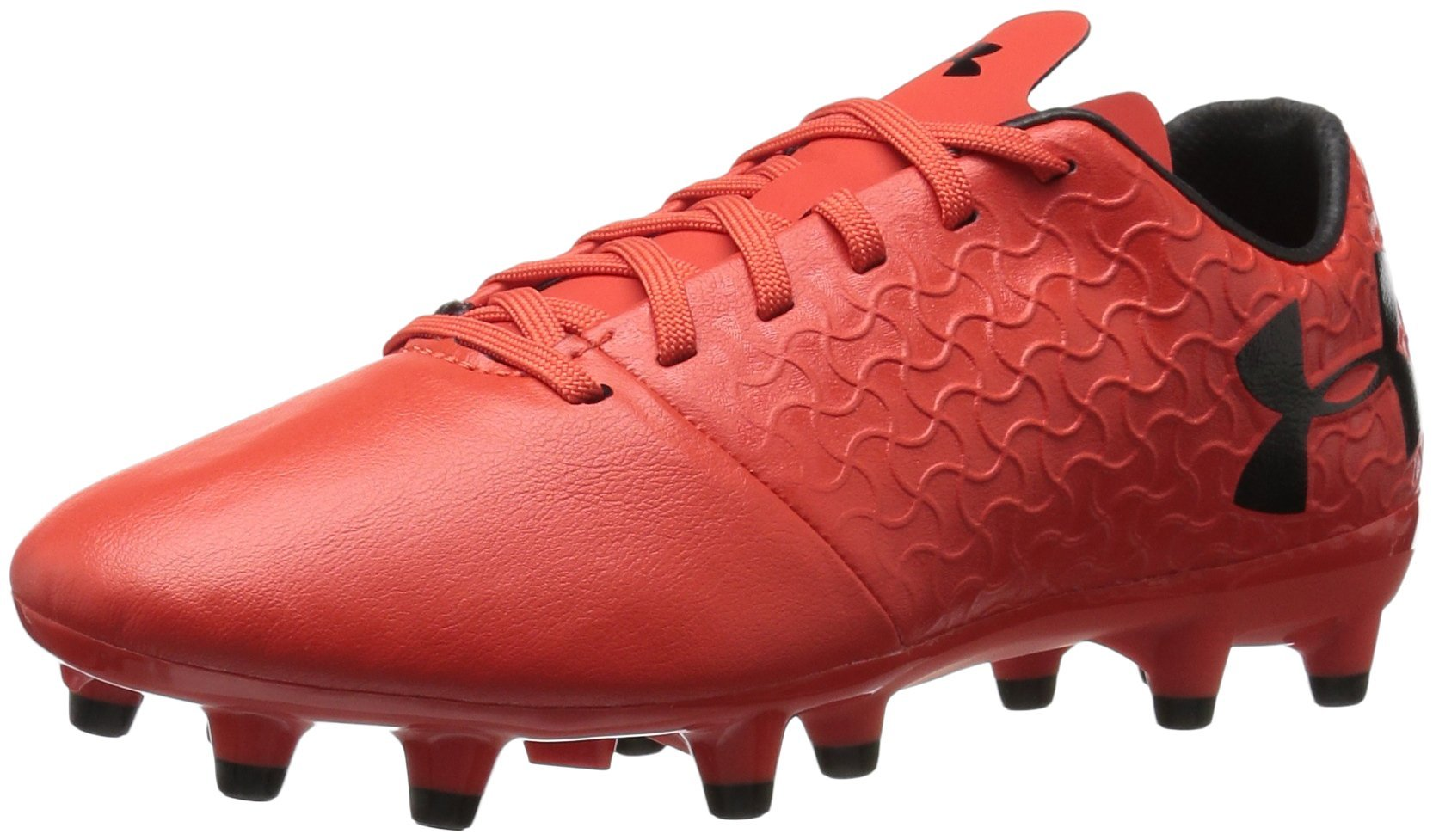 Under Armour Magnetico Select JR FG Soccer Shoe, Red, 4.5