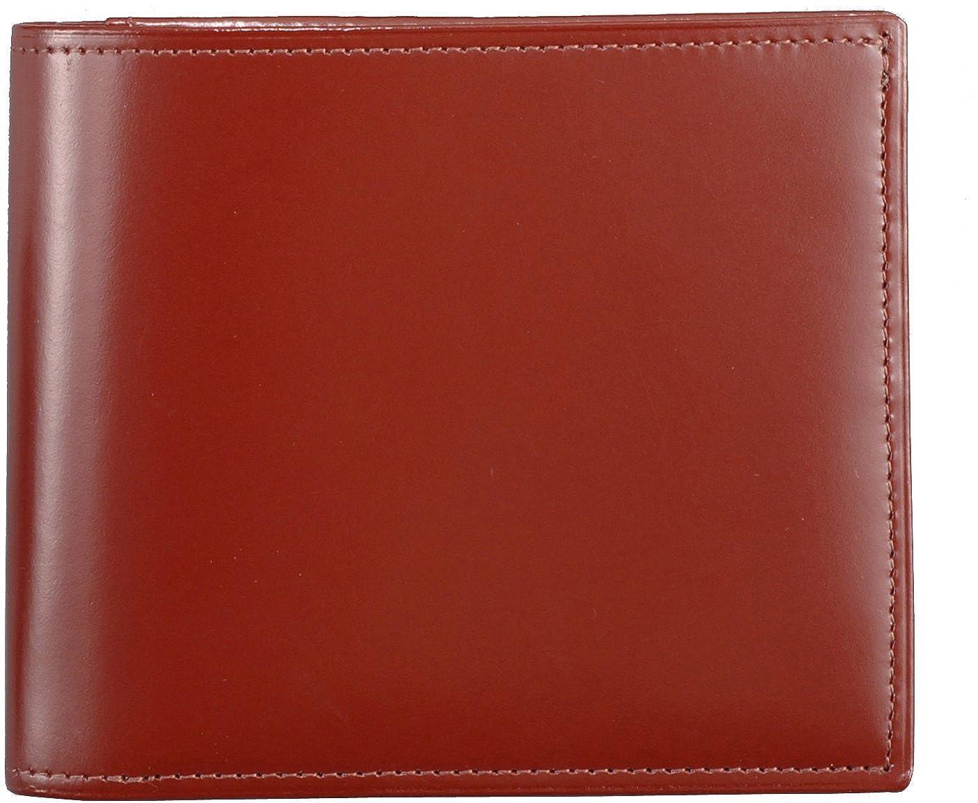 二折財布(小銭入れ付き) B0017IC9YE ブラウン