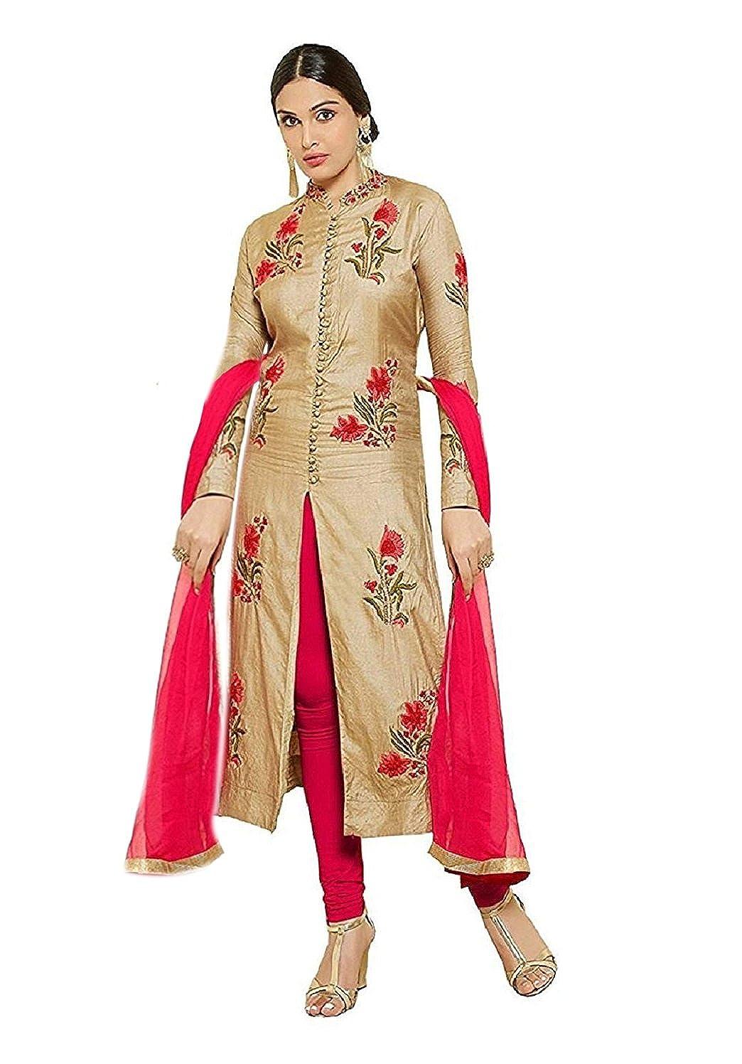 Vastrang Sarees Women's Cotton Dupatta (Mastani-Cream_Cream and Red_Free Size)